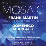 Mosaic Concert Spring 2020 - Scarlatti/Martin